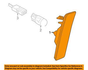 5C5-945-071-A OEM New Genuine Volkswagen Marker Lig 5C5945071A