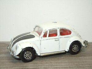 VW-Volkswagen-1200-Saloon-Police-Corgi-Toys-343-England-32682