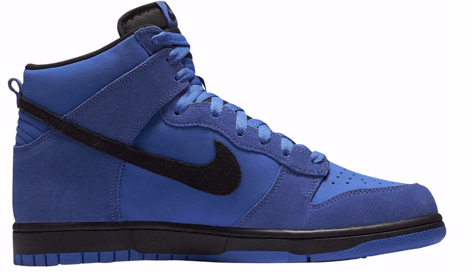 New! NIKE DUNK HI Comet Blue Black Shoes High force one 904233-002 Retro c1