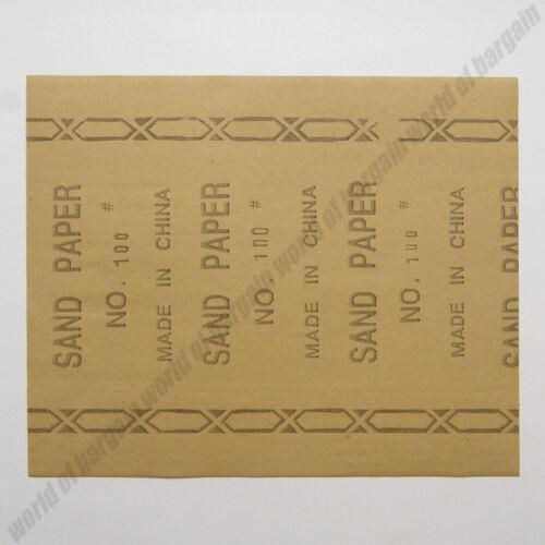 30 pcs SANDPAPER Mix Sizes /& Grit Wood Stucco Drywall 60 100 150 Sand Paper TH21