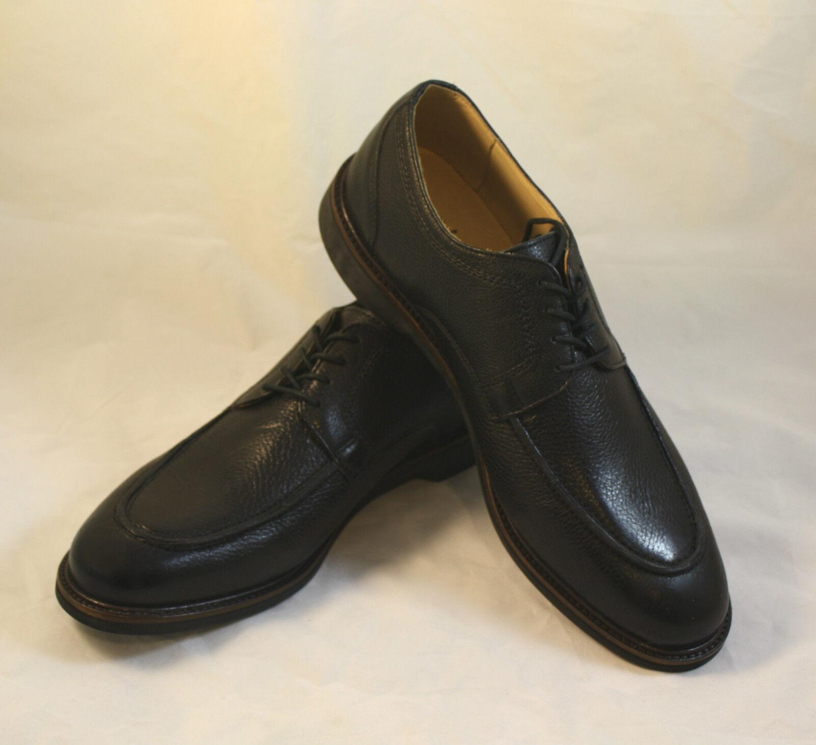 Nuevo Para hombres Zapatos Martin Dingman Ernest Cuero Con Cordones Oxfords Negro