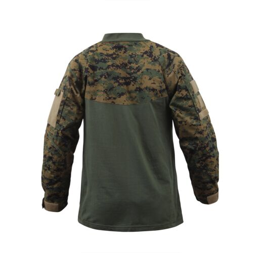 Bekleidung & Schutzausrüstung Large Airsoft US UCP ACU COMBAT Army USMC Woodland Digital MARPAT Shirt Hemd L