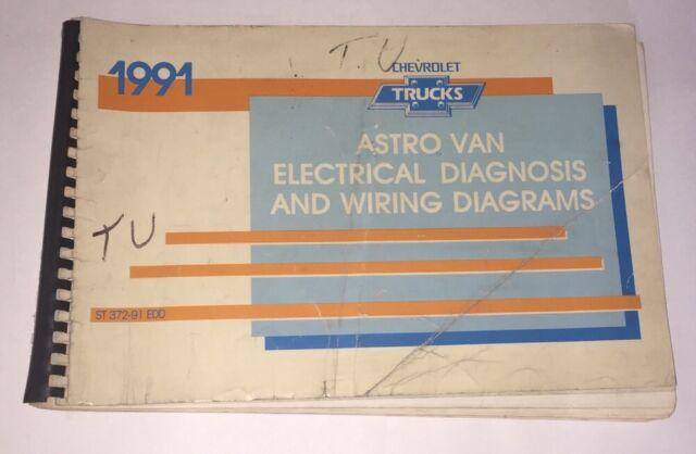 1991 Chevrolet Astro Van Factory Electrical Diagnosis