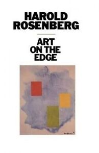 Art-on-the-Edge-Creators-and-Situations-by-Rosenberg-Harold-Paperback-book-1