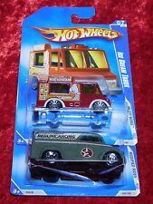 2009 Hot Wheels Ice Cream Truck & Redline Racing Dairy Delivery  2 PK  M.O.M.C.