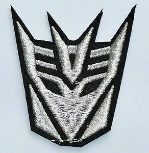 10x Cool DECEPTICON TRANS FORMERS Iron On patches Shirt Hat Jean Shoes Appliques