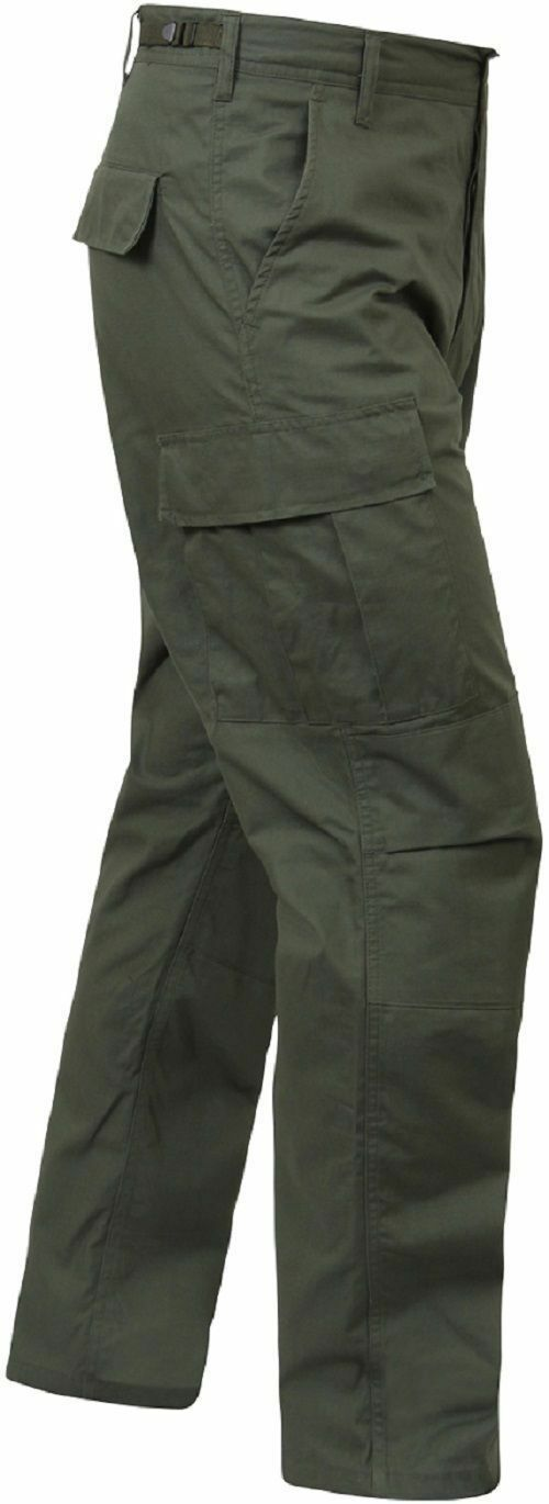 OD GREEN MENS 5935 redHCO BDU PANTS MILITARY TACTICAL 100%COTTON RIPSTOP XS- 3X
