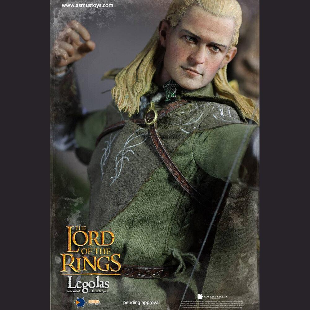 Asmus Toys Legolas Señor De Los Anillos serie LOTR ASM-LOTR 010 Acción Figura Modelo