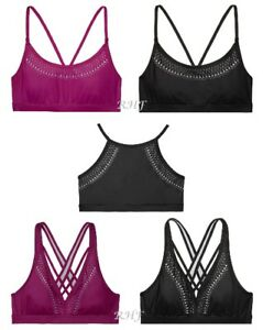 2e01666834 Victoria s Secret Sport Laser-cut Sports Bra High-neck Plunge Scoop ...