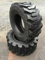 2 Skid Steer Tires 14-17.5 - 14 Ply Rating - 14x17.5 - Backhoe Tires