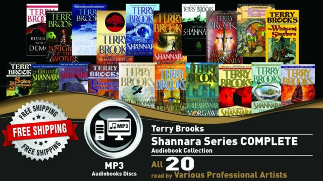 20 • SHANNARA By TERRY BROOKS Ultimate Audiobook Collection