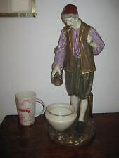 LARGE JAMES HADLEY ROYAL WORCESTER MALE WATER CARRIER FIGURE