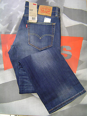Levi S 527 Men S Slim Boot Cut Low Rise Zip Fly Stretch Jeans Wave Allusions Ebay