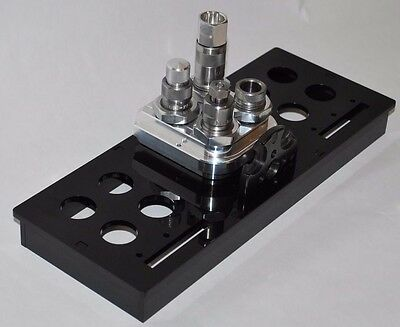 Toolhead Storage Tray/stand for Dillon Precision 550 4-hole Toolheads