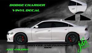 2011 2017 dodge charger srt vinyl decal sticker graphic c pilliar rt 2017 Dodge Charger Hemi Engine image is loading 2011 2017 dodge charger srt vinyl decal sticker