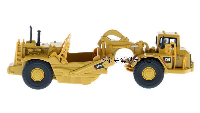 Caterpillar 1:87 Diecast 627G Wheeled Scraper Vehicles Model 85134 Collectible