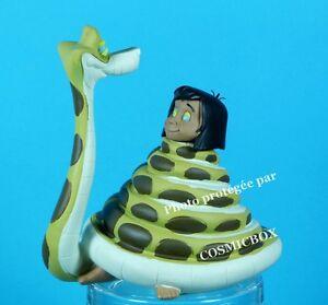 Details Sur Le Livre De La Jungle Figurine En Resine Mowgli Et Le Serpent Kaa Hypnotiseur