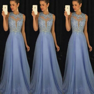 Women-Formal-Wedding-Bridesmaid-Evening-Party-Ball-Prom-Gown-Long-Cocktail-Dress