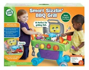 LeapFrog-Smart-Sizzling-BBQ-Grill-Ages-2-Toy-Play-Fire-Cook-Kitchen-Gift-Set
