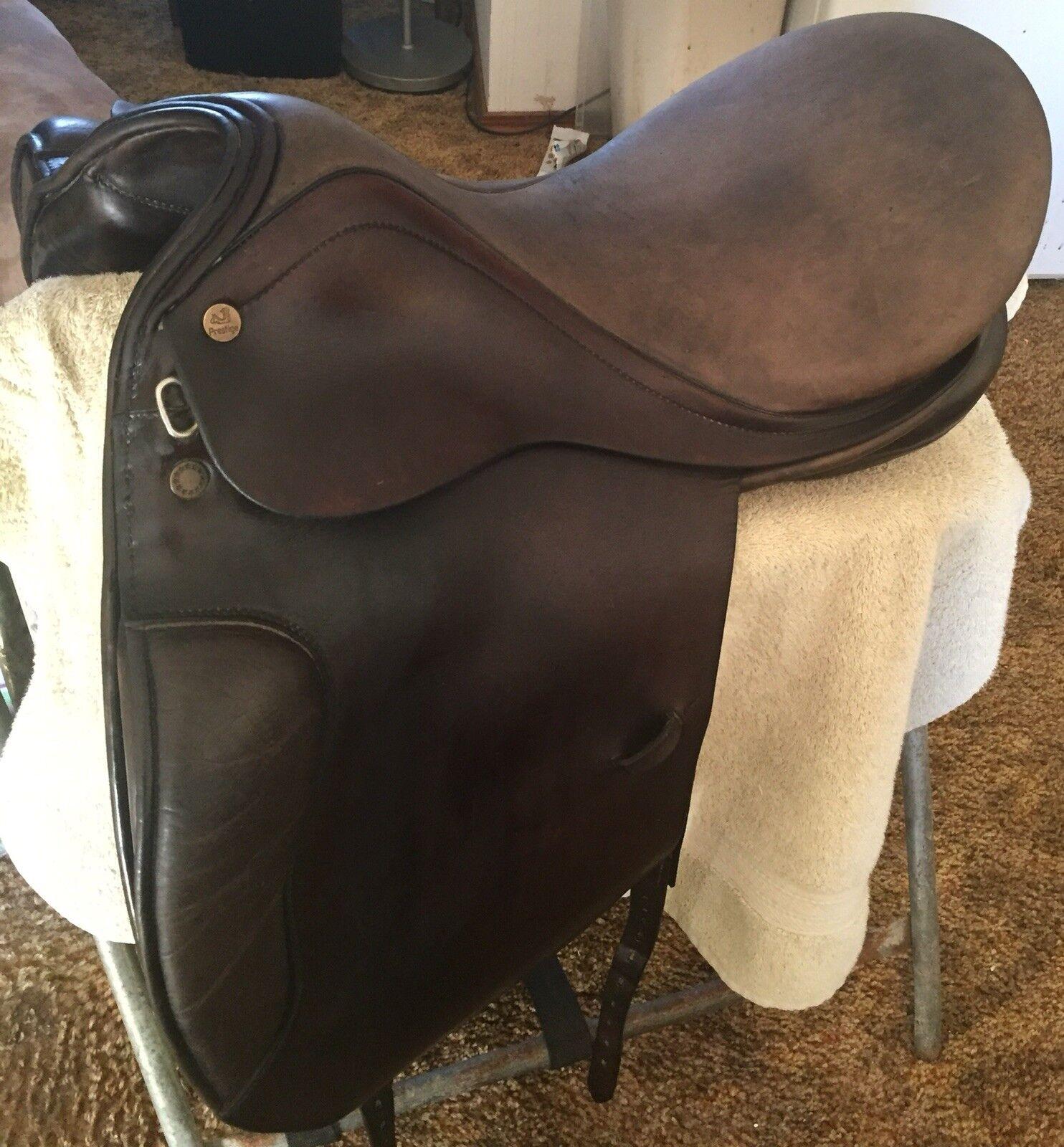 "Prestige La Selleria Italiano 17""  Dressage Saddle  lowest prices"