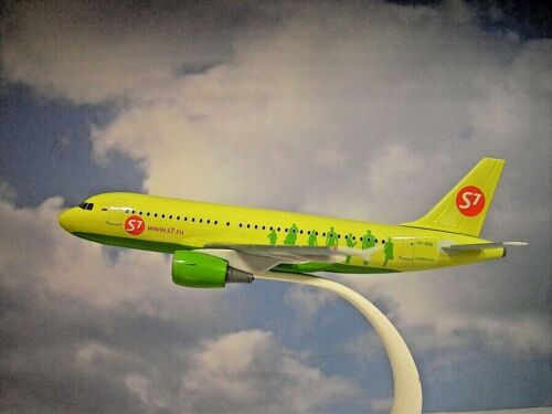 Herpa Wings Snap Fit 1:200 Airbus A319 S7Airlines VP-BHQ 611909 Modellairport500