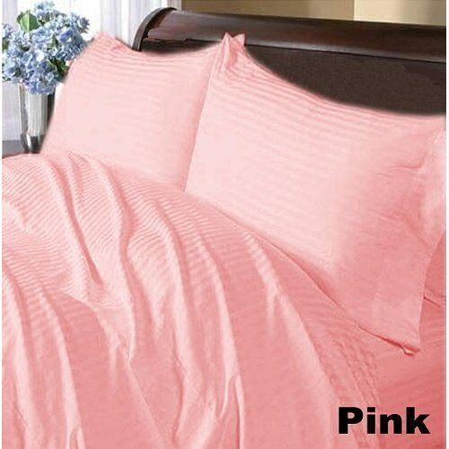 Twin XL Size 1 pc Bedding Fitted Sheet 1000 TC Egyptian Cotton All Stripe Colors