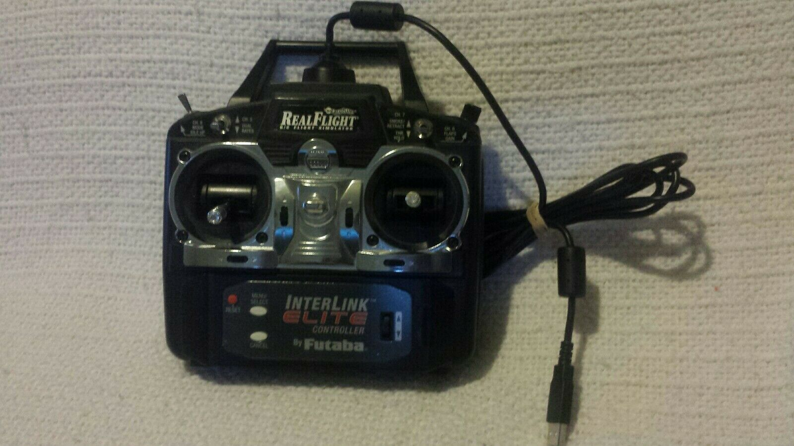 Genuine Real Flight R C Simulator G4 W InterLink Elite Controller by Futaba