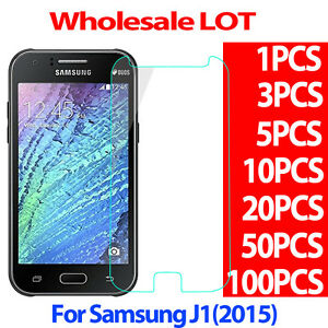 9H Premium Tempered Glass Screen Protector Film For Samsung Galaxy J1 2015 LOT