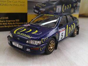 5-1993-Subaru-Impreza-555-RAC-Vatanen-Diecast-Model-Car-1-43-Corgi-Vanguards