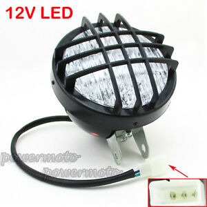 Details about ATV LED Head Light Front Headlight For Roketa Sunl Taotao 4  Wheeler Go Kart Quad