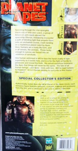 """12/"""" Action Figure Special Collector/'s Hasbro  New Planet of the Apes ~ ATTAR"""