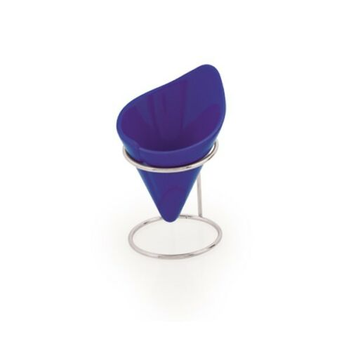 CUENCO CON SOPORTE RECIPIENTE CERAMICA IDEAL PARA HELADO PATATAS FRUTOS SECOS