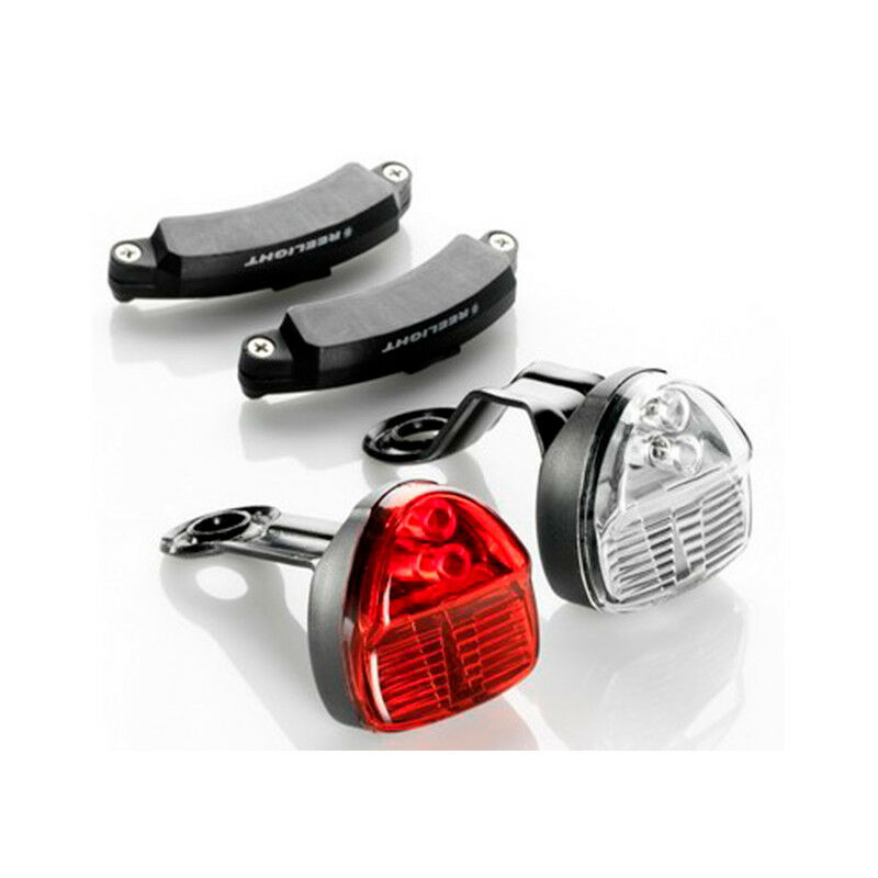 Reelight Sl120 Lampeggiante Compatto Bicicletta Led Fanale e Posteriore Set