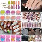 25 Colors Nail Art Glitter Powder Dust For UV GEL Acrylic Powder Decoration Tips