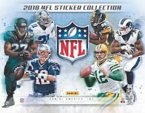 Image is loading 2018-Panini-NFL-Football-Sticker-Collection-Stickers-Pick- 91854e1fd