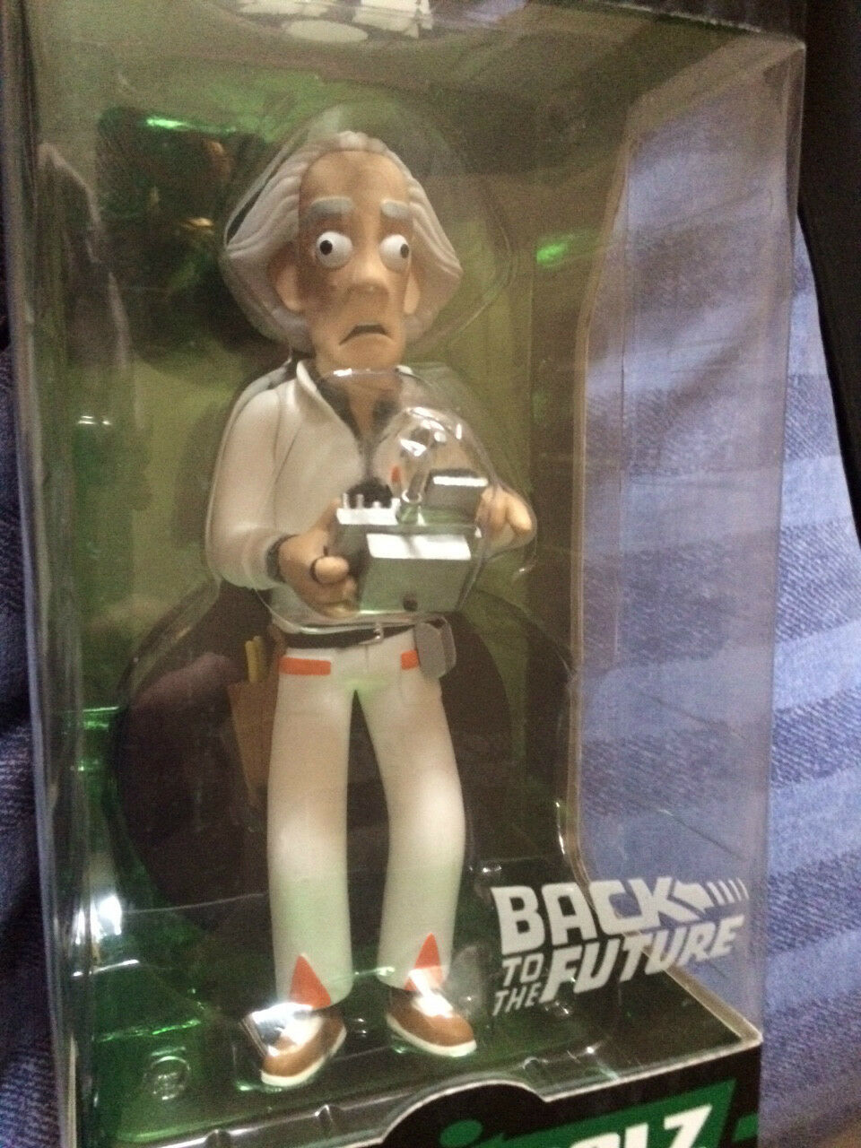 Back to the Future Dr Emmett braun  8 inch vinyl idolz  figure