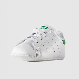 cheaper fbe1c 84595 adidas Baby Shoes Stan Smith Crib B24101 White 17