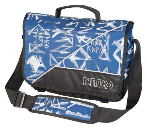 NITRO Evidence Messenger 11 L Umhängetasche Büro Schule Freizeit * Uni