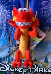 2020 Disney Parks Exclusive Mulan Mushu Dragon Shoulder Pal Plush Nwt Ebay
