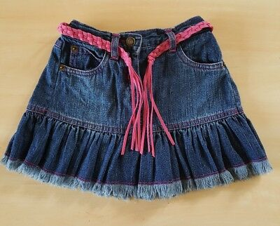 Aggressive Primark Early Days Baby Girls Denim Skirt With Belt Age 18-23 Months