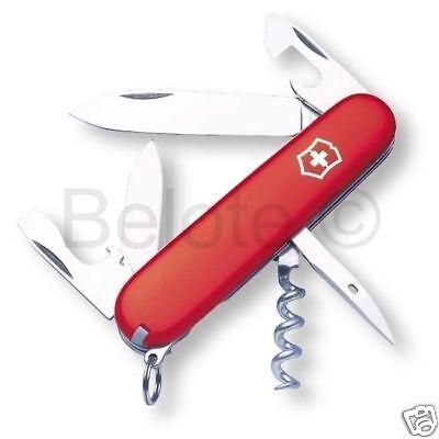 Victorinox Swiss Army Knife Red Spartan Multi Tool 3 58