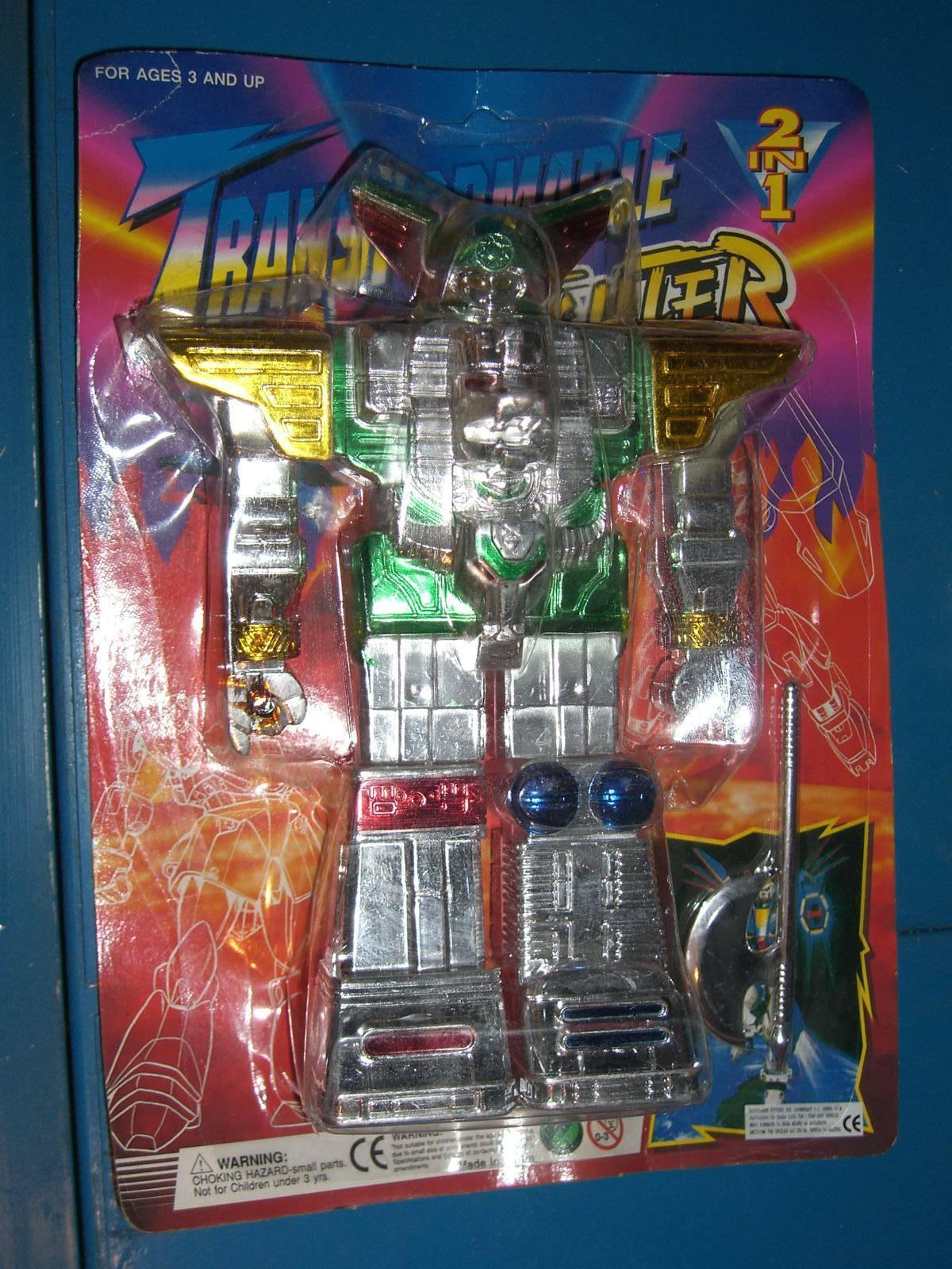 VINTAGE 80'S CHOGOKIN DX TRANSFORMABLE ROBOT MOC TRANSFORMER