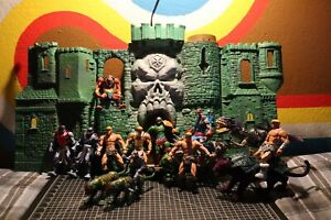 2001 Motu Masters Of The Universe: He-Man Action Figures Full Collection Castle