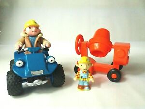Bob-The-Builder-Joblot-Figura-e-Vehicle-Scrambler-e-Dizzy