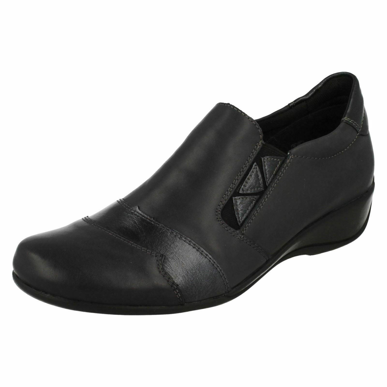 Remonte R9814 Damen Freizeit Slipper Flach Leder Alltag Smart Schuhe Größe