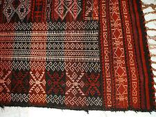 Old Turkman Tekke sumakh Kilim Runner Turkmen Afghan Kilim alfil antiguo Russie