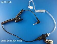Schallschlauch Security Headset Kopfhörer 3.5 mm Klinkenstecker (TOP Qualität)