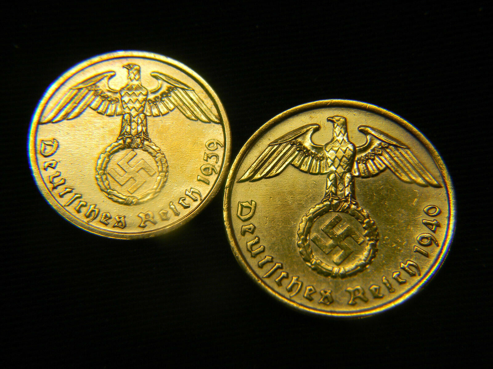 10th Anniversary WORLD TRADE CENTER FREEDOM TOWER 24K Gold Plated 2-Coin Set