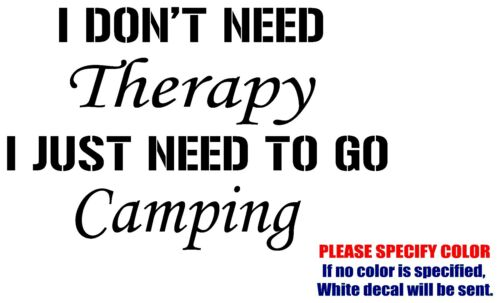 """I Don/'t Need Therapy JDM Funny Vinyl Decal Sticker Car Window Bumper laptop 7/"""""""