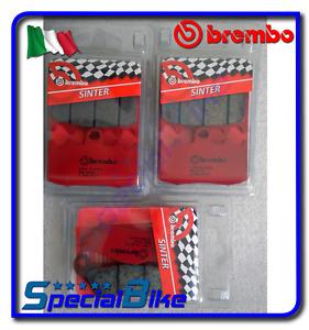 07bb26sa - plaquettes frein BREMBO compatible avec BMW R 1200 S 2006- (f) (oem